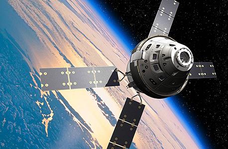 הדמיה של אוריון. ספינת חלל ללא כנפיים