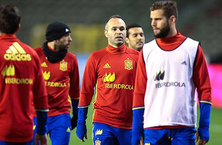 נבחרת ספרד. המשחק יתבטל, צילום: איי אף פי