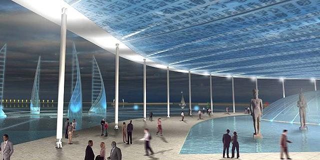 לראשונה בעולם: מוזיאון תת-ימי ייבנה באלכסנדריה ב-150 מיליון דולר