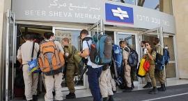 תחנת רכבת באר שבע מרכז, צילום: ישראל יוסף