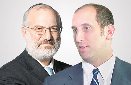מימין בן אקסלר ו אדוארדו אלשטיין., צילום: אוראל כהן
