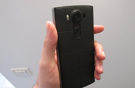 LG V10 ביקורת 5, צילום: עומר כביר