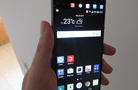 LG V10 ביקורת 6, צילום: עומר כביר
