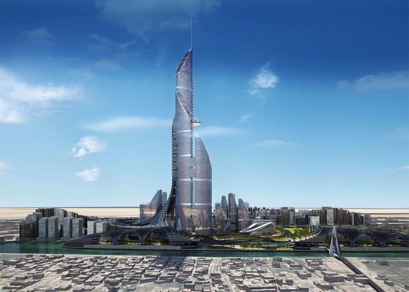 הדמיית המגדל, צילום: ambs architects