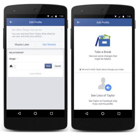 פייסבוק אקסים הפסקה