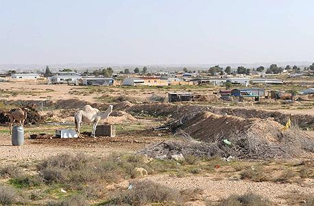 היישוב הבדואי ביר הדאג'. המדינה הכירה בו ב־1999