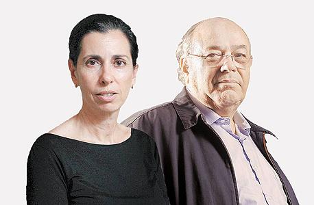 מימין דב סיני ו דורית סלינגר, צילום: עמית שעל