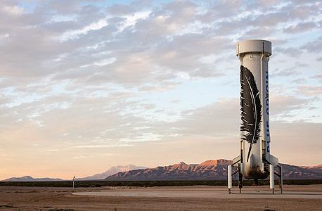 טיל ניו שפרד בלו אוריג'ין אמזון ג'ף בזוס, צילום בלומברג