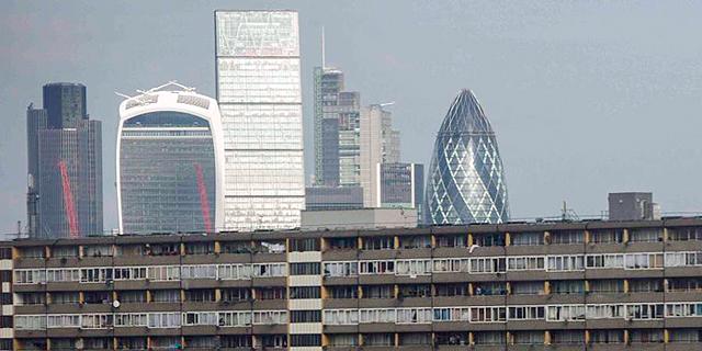 בנייני משרדים בלונדון, צילום: רויטרס