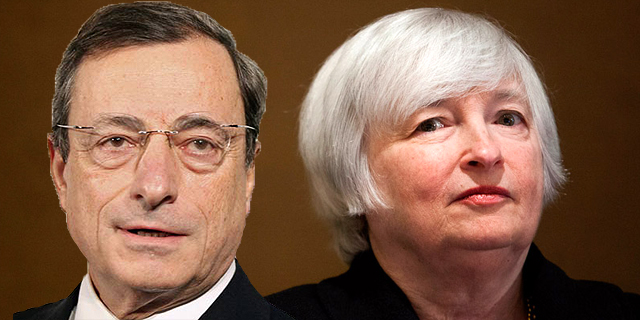 """הבנק האירופי מאשים: מידע מאקרו כלכלי בארה""""ב דולף לפני הפרסום"""