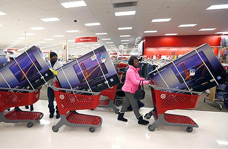 """בארה""""ב מתכוננים לקניות סוף השנה, צילום: רויטרס"""
