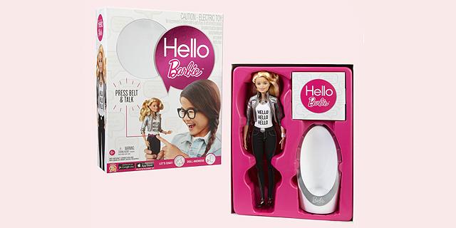 Hello Barbie? עלולה לאפשר להאקרים לשוחח עם הילדים, צילום: צילום מסך