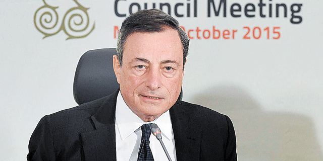 """מריו דראגי - יו""""ר ה-ECB, צילום: איי אף פי"""