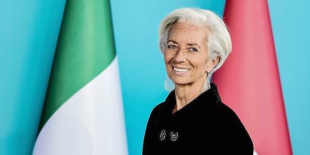 """וידאו כריסטין לגארד יו""""ר קרן המטבע הבינלאומית, צילום: איי אף פי"""