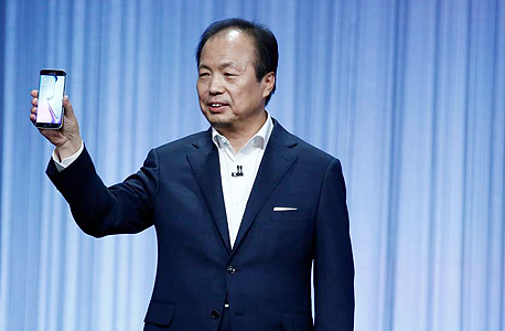 """ג'יי.קיי שין מנכ""""ל סמסונג, צילום: בלומברג"""