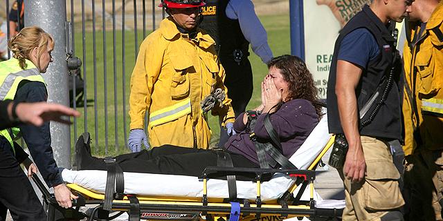 רובים ומטעני נפץ: מבצעי הטבח בקליפורניה הם בני זוג