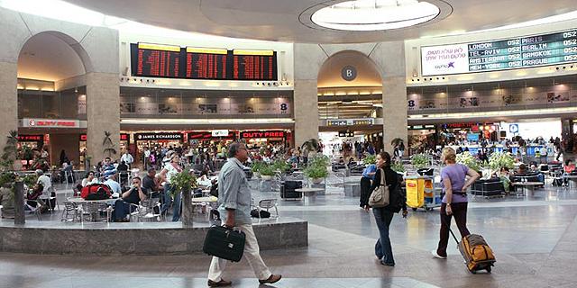 """רשות שדות התעופה: 14.6 מיליון נוסעים עברו בנתב""""ג מתחילת השנה"""