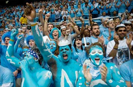 נורת' קרולינה היא קבוצת כדורסל המכללות בעלת השווי הגבוה ביותר