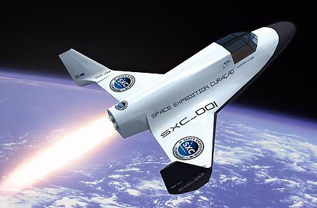 החללית של XCOR. המחיר: 137.5 אלף דולר, יציאה ממדבר מוהאבי, צילום: xcor