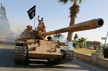 An ISIS militant. Photo: Reuters