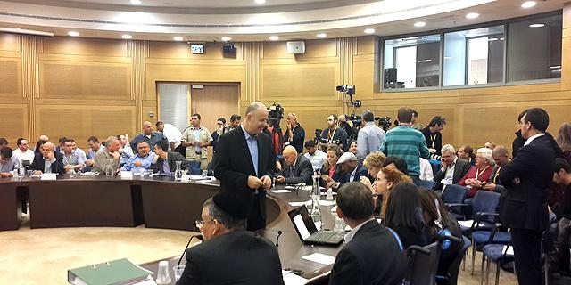 הדיון בוועדת הכלכלה , צילום: ליאור גוטמן
