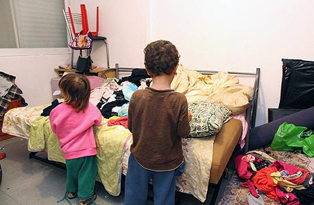 ילדים שחיים במצוקה כלכלית (ארכיון)