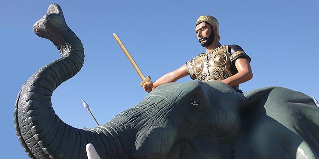 מה עושים פילים בסיפור חנוכה?