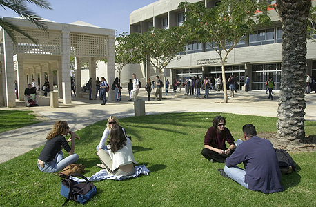 Students at Ben-Gurion University of the Negev. Photo: Meir Azulay