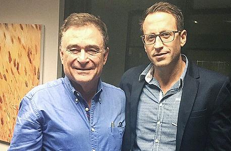 מימין דורון חורב ושלי פדרמן בעלי חברת לנדוור, צילום: הדס ניצן