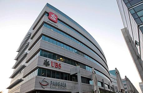 משרדי UBS בהרצליה. הלקוחות הישראליים התמקדו בתיקים דולריים