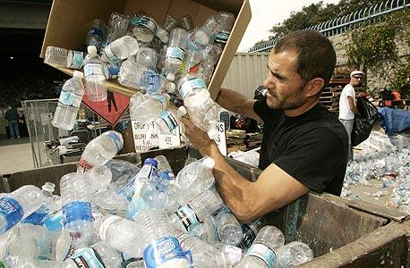חברות משקאות שלא מיחזרו בקבוקים נקנסו ב-20.5 מיליון שקל