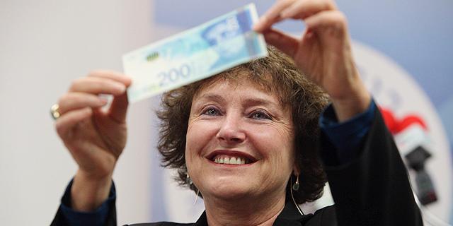 שטר ה-200 - הנפוץ ביותר במשק; עלייה בשימוש בכספומטים