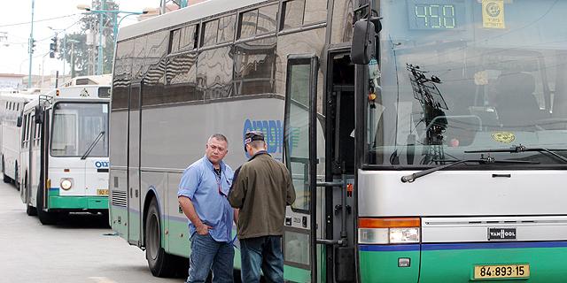 בעקבות אלימות נגד נהגים - סופרבוס תשבית מחר בבוקר את קווי האוטובוסים שלה