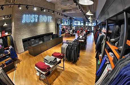 """חנות נייקי מרכז עזריאלי תל אביב, צילום: קוקו (יח""""צ)"""
