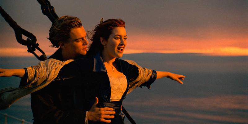 הטיטאניק. הסרט הכי ותיק ברשימה, במקום מכובד, צילום: Paramount Pictures