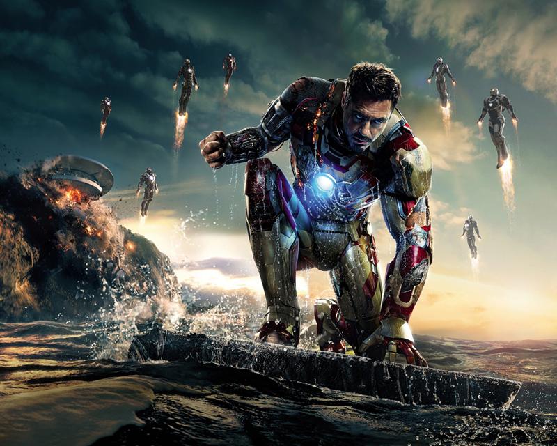 איירון מן, צילום: Walt Disney