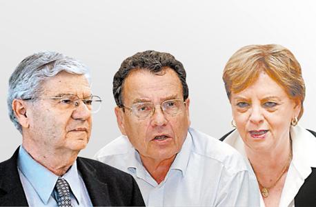 דורית בייניש, דניאל פרידמן ואהרון ברק