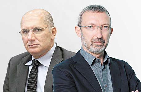 """מימין: המנכ""""ל הפורש של IBC דני לאובר והיו""""ר דורון כהן"""