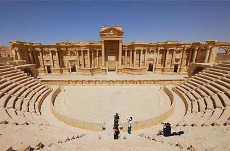 פלמירה סוריה עתיקות ארכיאולוגיה דאעש, צילום: רויטרס