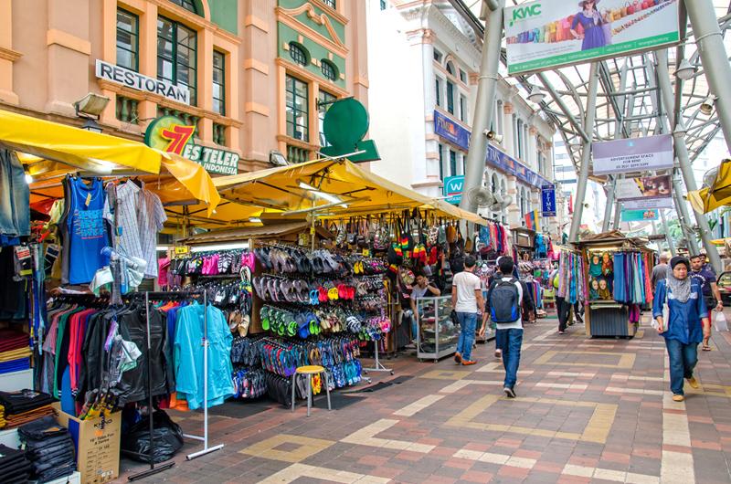 קואלה לומפור: מקום חמישי. מושלמת למי שמחפש מציאות, במיוחד השוק המרכזי, צילום: שאטרסטוק