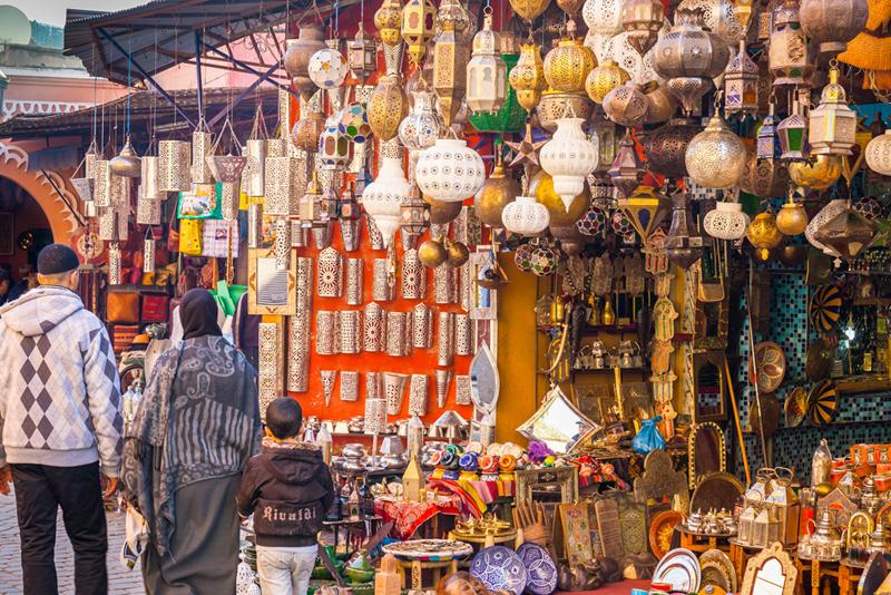 מרקש: מקום 19. אחת הערים העתיקות והמפורסמות בצפון אפריקה - מבטיחה שופינג מגוון ומלהיב, צילום: שאטרסטוק