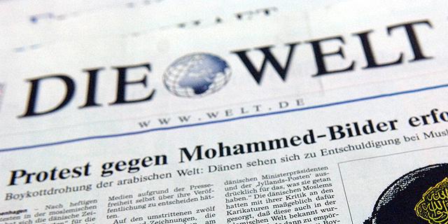 """העיתון הגרמני """"די וולט"""" (ארכיון), צילום: בלומברג"""