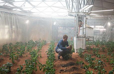 """תפוחי אדמה מאדים מט דיימון סרט להציל את מארק ווטני נאס""""א, צילום: fox"""