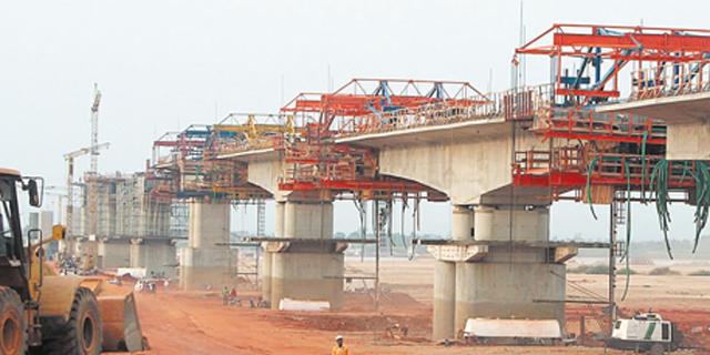 בניית גשר לוקו על ידי שיכון ובינוי בניגריה
