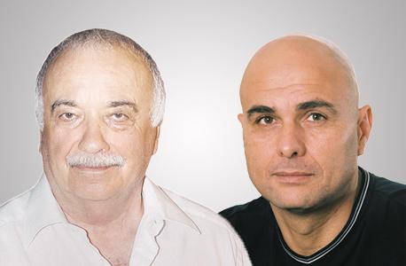 מימין יוסי ארד ו אליעזר פישמן, צילום: יחצ, אוראל כהן