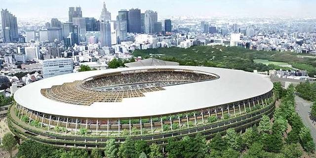 לטוקיו 2020 יש עיצוב חדש, מאופק וירוק לאצטדיון האולימפי