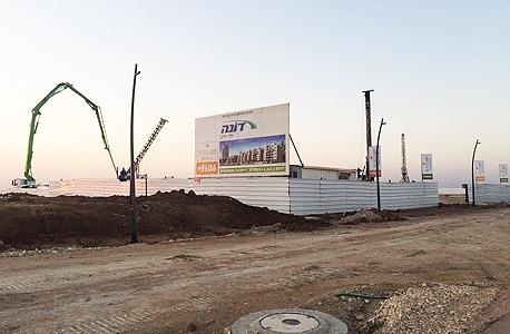 פרויקט בנייה בכרמי גת
