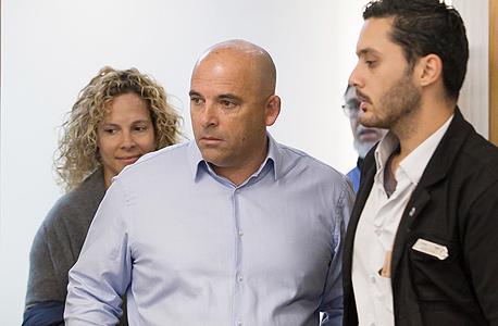 איתי שטרום בבית המשפט היום, צילום: אוראל כהן