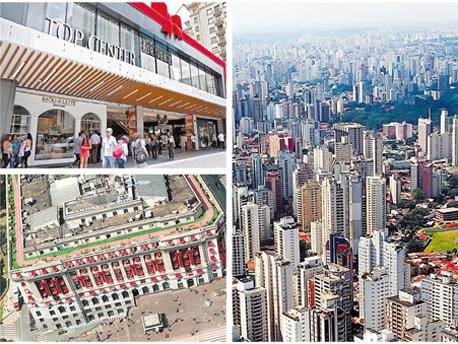 """העיר סאו פאולו, קניון טופ סנטר וקניון שופינג לייט. """"עם כל הכבוד לעסקי המקרו, בנדל""""ן מה שקובע זה המיקרו"""", צילום: תמר טוניק, יח""""צ"""