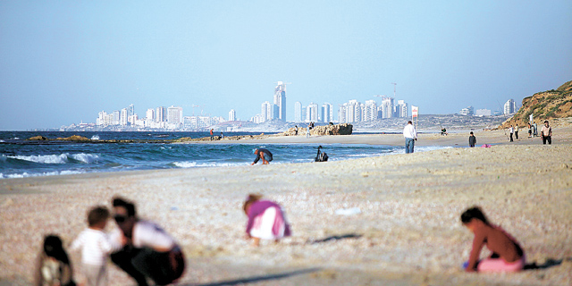 חוף פלמחים, צילום: עמית שעל